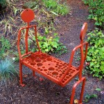Blau Little Red Bench